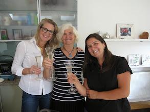 Photo: Happy birthday, Elisabeth! With Diana and Lili