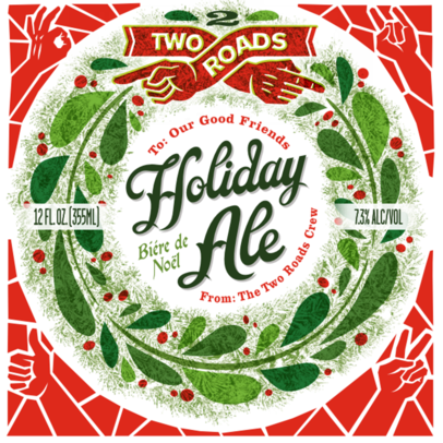 Logo of Two Roads Holiday Ale