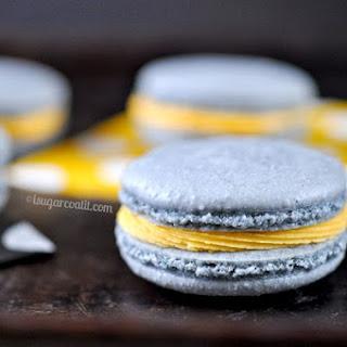 White Chocolate Ganache Mango Macarons