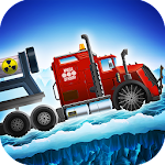 Ice Road Truck Driving Race Icon