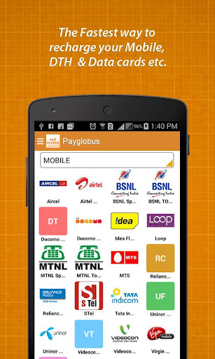 PlayGlobus Mobile Recharge