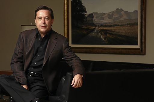 RISE AND FALL Now-resigned Steinhoff CEO Markus Jooste (CEO), the post office worker's son who built and lost a business empire.