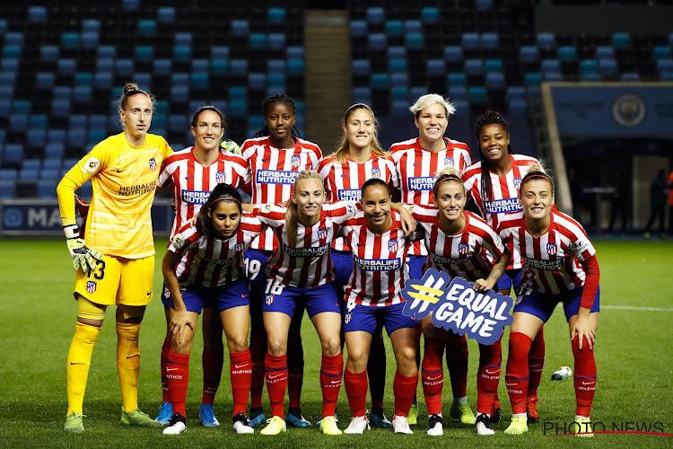 Trainingen opgeschort bij vrouwenploeg Atlético Madrid na vijf(!) positieve coronagevallen