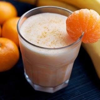 Mandarin Smoothies Drink