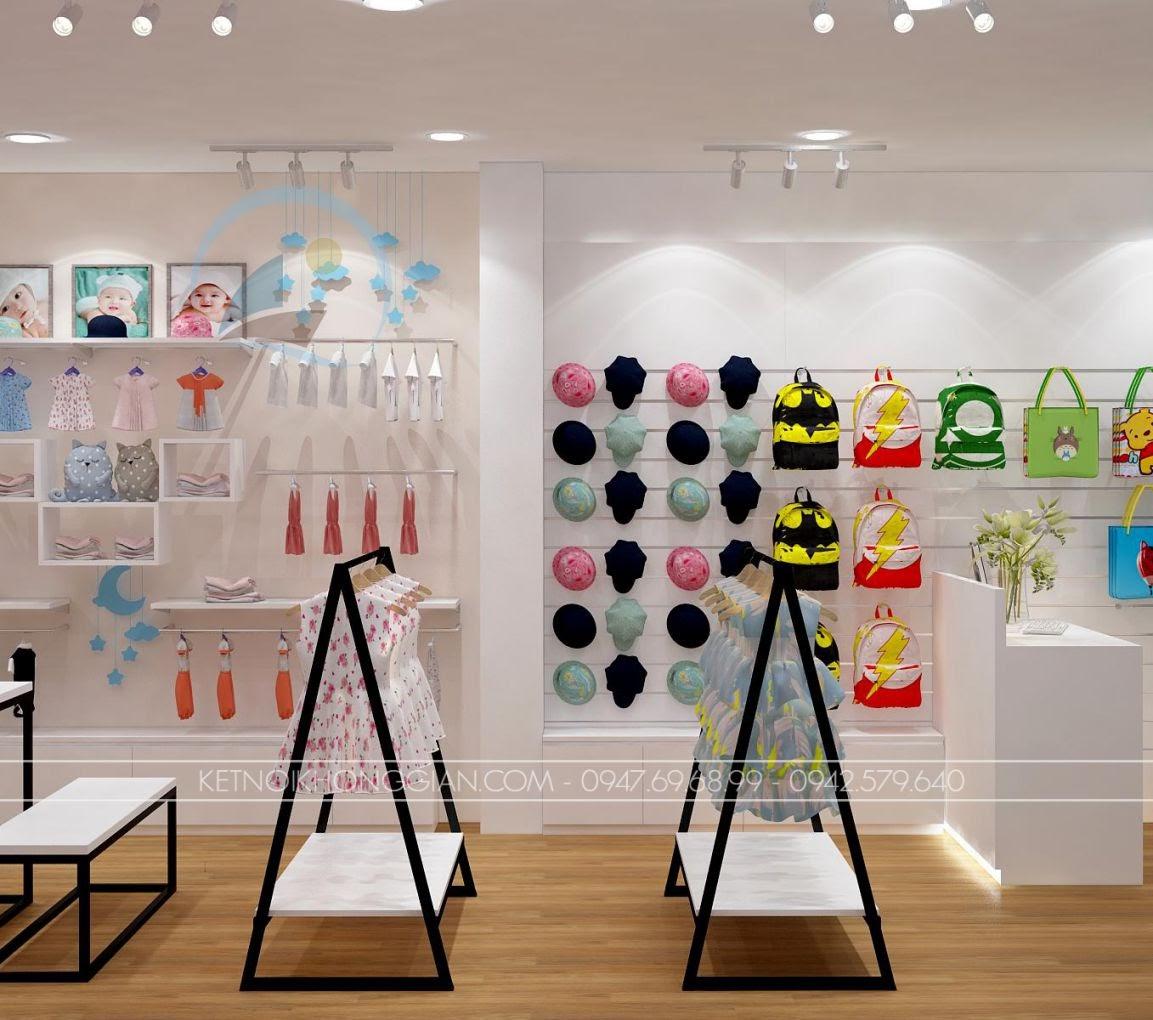thiết kế shop thời trang trẻ em giá rẻ 11