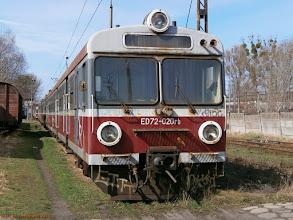 Photo: ED72-020 {Toruń Kluczyki; 2013-04-20}
