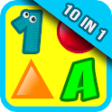 10 Preschool Games for Kids icon