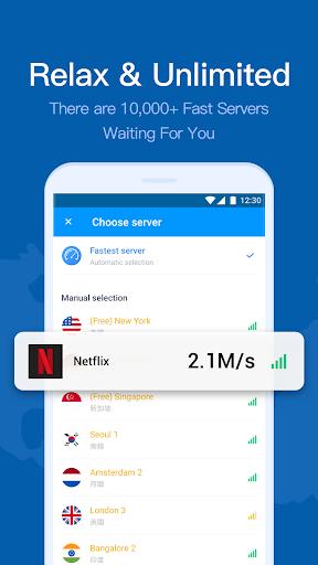 Hi VPN- Free VPN Proxy Server, Hotspot VPN Service screenshot 3