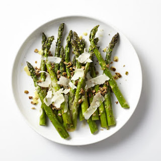 Asparagus with Toasted Seeds and Mustard Vinaigrette Recipe