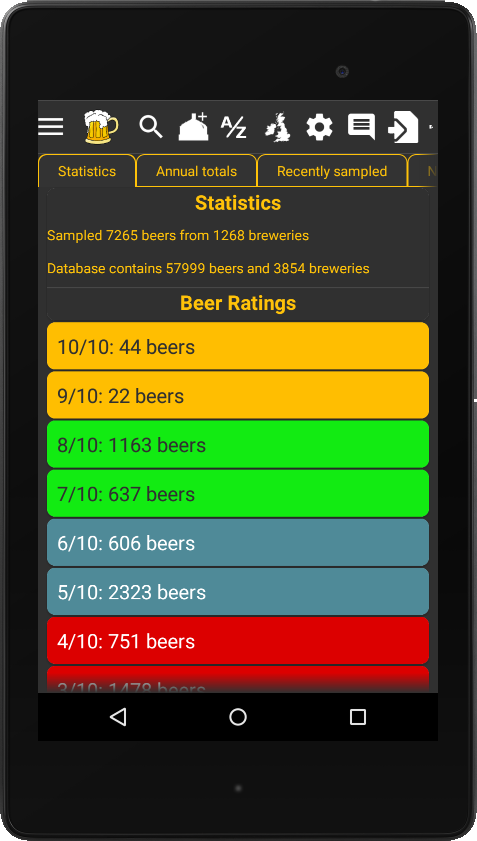 Beermad mobile (free)- screenshot