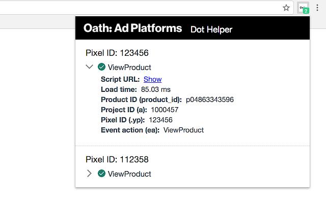 Oath: Ad Platforms Dot Helper