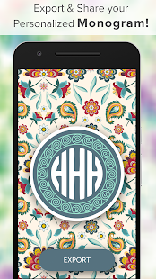 Monogram It - Monogram Wallpaper Backgrounds Maker - náhled