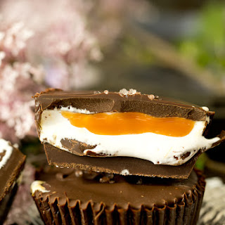 Dark Chocolate Salted Caramallow Cups Recipe