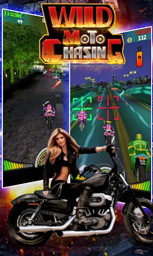 Wild Moto Chasing