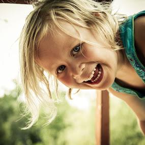 Peek a boo! by Trent Sluiter - Babies & Children Children Candids