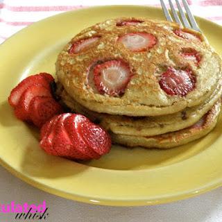 Strawberry Banana Pancakes.