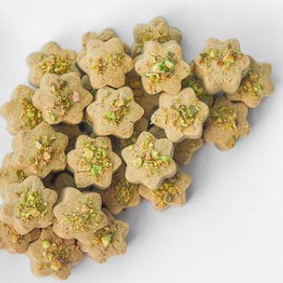 Nan-e Nokhodchi (Persian Chickpea Cookies).