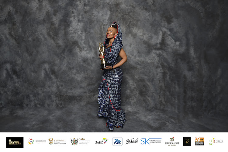 Moshidi Motshegwa was honoured with the award for Best Actress in a Telenovela.