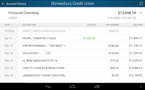 Shrewsbury Credit Union- screenshot thumbnail