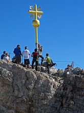 Photo: Standing On the Zugspitze Summit