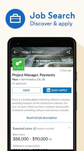 LinkedIn: Jobs, professional profile, & networking Android App Screenshot