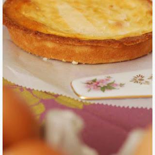 Gâteau Basque (Basque tart).
