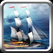 Pirate Battlefield Cannon Ship