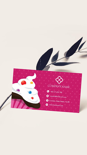 Visiting Card Maker With Photo & QR for PC