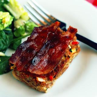BBQ Bacon Mini Turkey Meatloaf Recipe
