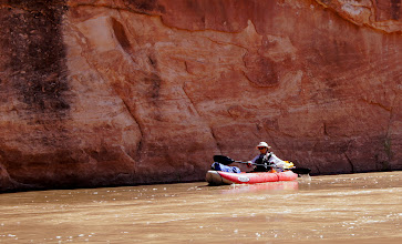 Photo: No paddling required today.