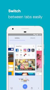 Opera with free VPN 4