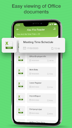 xlsx file reader - xlsx file viewer screenshot 3