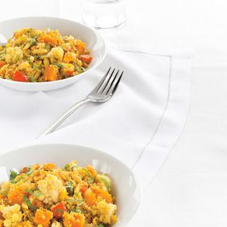 Vegetarian Quinoa Curry.