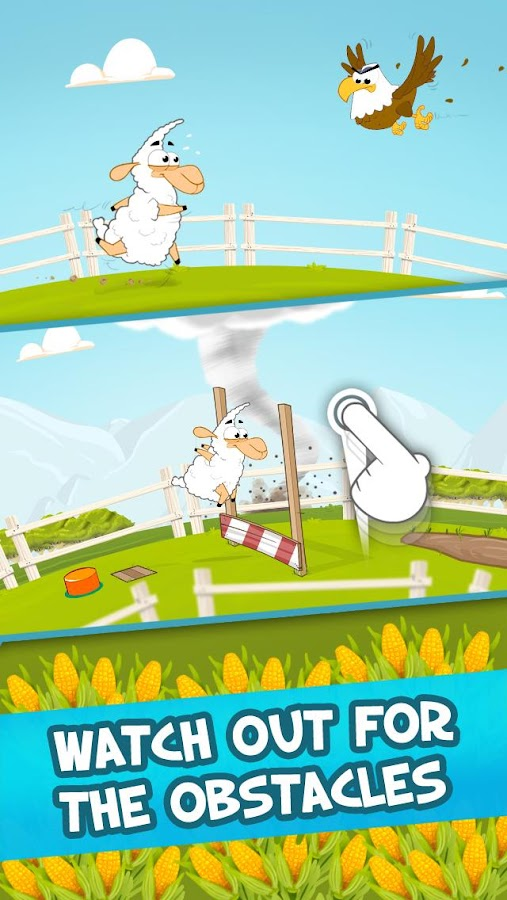 Wacky Runners - Farm- screenshot