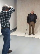 Photo: Did I mention the School of Photography?  Here, Jack Enders takes advantage of the offer of a free portrait.