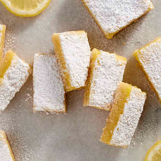 Gluten-Free Lemon Squares with an Almond Flour Crust Recipe