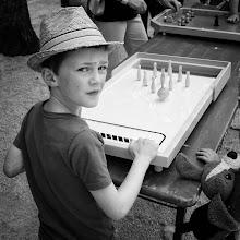 Photo: Table Bowling...  #street #streetphotography #shootthestreet  #blackandwhite #blackandwhitephotography #bw #monochrome