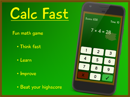 لالروبوت Calc Fast تطبيقات screenshot