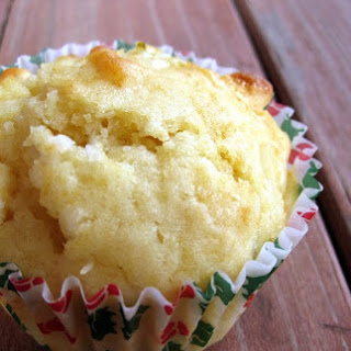 Lime-Coconut-White Chocolate Chip Muffins.