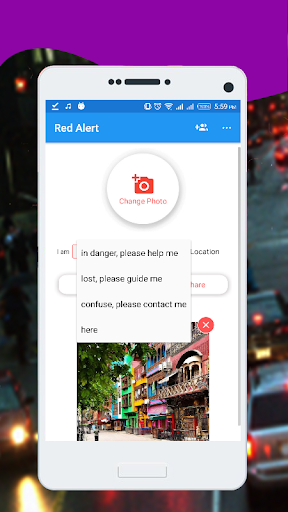 Red Alert - Location Tracker (Online/Offline) - screenshot