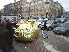 """Photo: VIP-марафон. Питер. 2006 (очень весомый приз """"уехал"""" в Карелию)"""