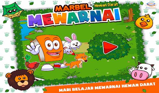 Marbel Mewarnai Hewan Darat- screenshot thumbnail