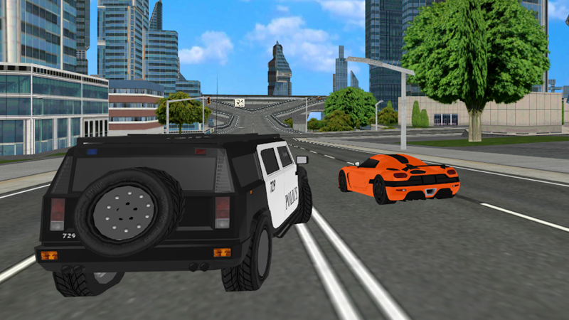 Скриншот City Police Car Driving Game