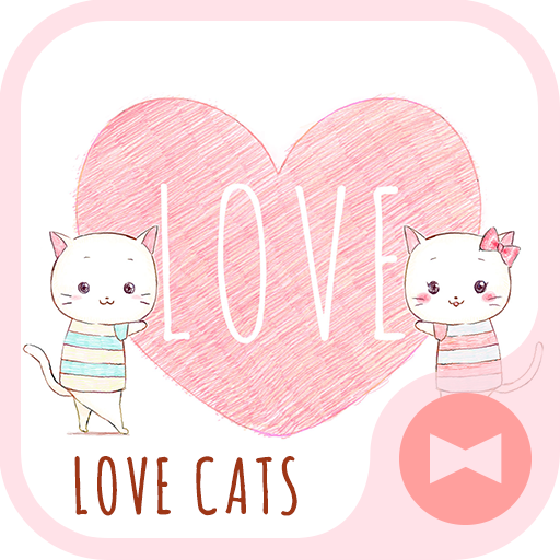 Pair Wallpaper - Love Cats Icon