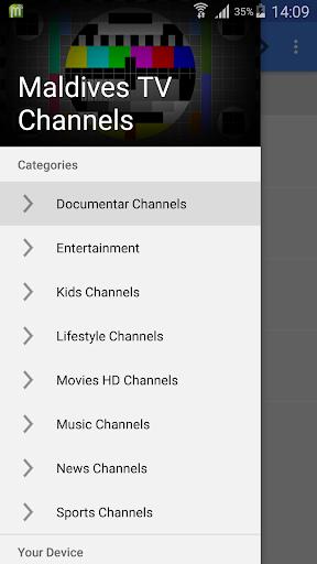 TV Maldives All Channels