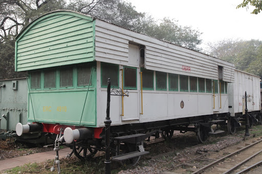 Back view of the VIP O&RR coach