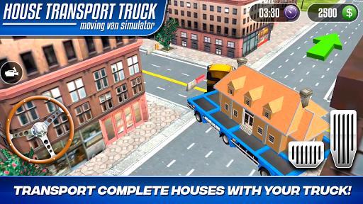 House Transport Truck Moving Van Simulator 1.0 screenshots 7