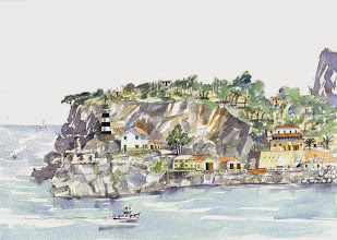Photo: Lower lighthouses Puerto Soller