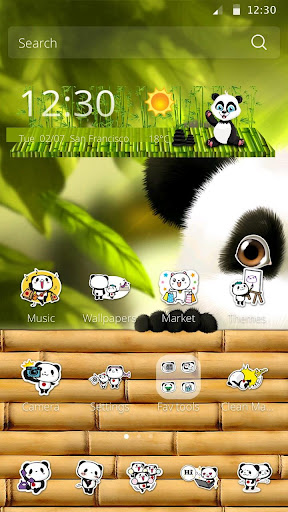かわいいパンダのテーマ