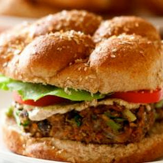 Bulgur-Black Bean Veggie Burger